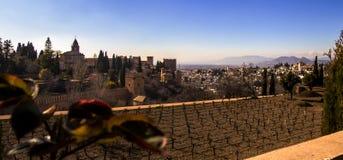 Letztes maurisches Fort in Spanien Lizenzfreie Stockfotos