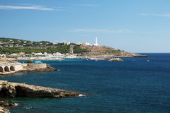 Leuca cape Royalty Free Stock Images