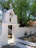 Leucade, entrata del monastero Fotografia Stock Libera da Diritti