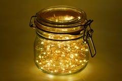 100 Leuchtdioden Stockfotografie