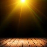 leuchte Stockfoto