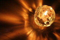 Leuchte der Kerze Stockfoto