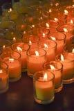 Leuchte der Kerze Lizenzfreies Stockbild