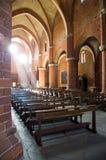 Leuchte der Kirche Stockbild