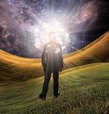 Leuchte des Verstandes Stockbild