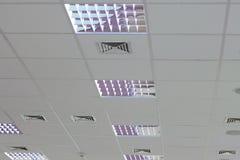 Leuchte eingestellt in das Dach Lizenzfreies Stockfoto