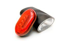 Leuchte für das Fahrrad Stockfotos