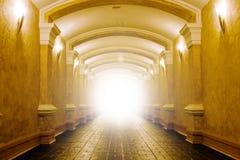 Leuchte im Ende Lizenzfreie Stockbilder
