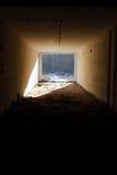Leuchte im Ende des Tunnels Lizenzfreie Stockbilder