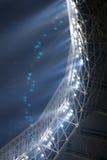 Leuchte im Stadion Stockfotografie