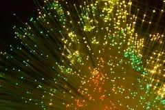 Leuchte und Farbe Stockbild