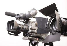 Leuchte und Kamera Lizenzfreie Stockfotografie
