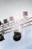Leuchte und Kasten Lizenzfreie Stockfotografie