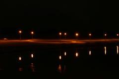 Leuchte und Reflexion Stockfoto