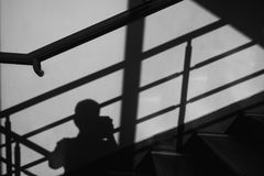 Leuchte und Schatten lizenzfreies stockfoto