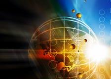 Leuchte und Technologie Stockfoto