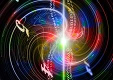 Leuchte und Technologie Lizenzfreie Stockfotos