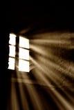 Leuchte vom Fenster Stockbilder