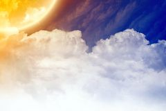 Leuchte vom Himmel lizenzfreie abbildung