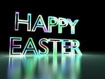 Leuchte von fröhlichen Ostern Stockfoto