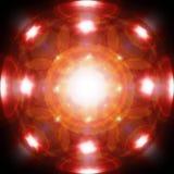 Leuchten Stockfoto