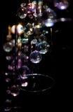 Leuchten als Hintergrund Stockfotografie