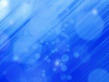 Leuchten auf blauer background Lizenzfreies Stockfoto