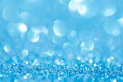 Leuchten auf blauer background Lizenzfreies Stockbild