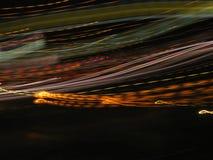 Leuchten in der Bewegung Stockfotos