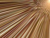 Leuchten in der Bewegung Stockbild