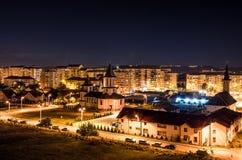Leuchten in der Nacht Stockfoto