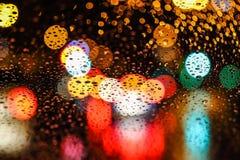 Leuchten der Stadt Lizenzfreie Stockfotografie