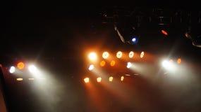 leuchten Kamera tätigkeit Stockbild