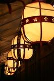 Leuchten in Kyoto Lizenzfreies Stockfoto