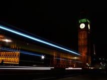 Leuchten von Big Ben Lizenzfreies Stockfoto