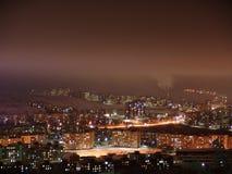 Leuchten von Murmansk lizenzfreies stockbild