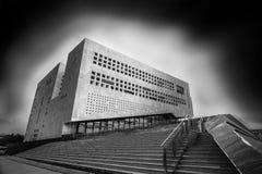Leuchtende Bibliothek Lizenzfreie Stockfotografie