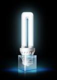 Leuchtende Gefäß-Lampe Lizenzfreie Stockbilder