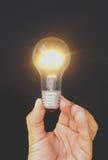 Leuchtende Idee lizenzfreies stockfoto