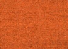 Leuchtende orange Leinenbeschaffenheit Stockfoto
