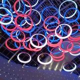 leuchtender Ring Lizenzfreies Stockbild