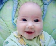 Leuchtendes Lächeln lizenzfreie stockfotos
