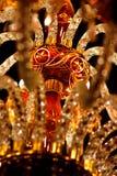 Leuchter in der Moschee lizenzfreie stockfotografie
