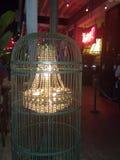 Leuchter in einem Käfig Lizenzfreie Stockbilder