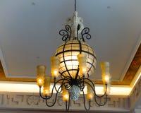 Leuchter-Kürbis Stockbild