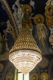 Leuchter-orthodoxe Kirche Lizenzfreies Stockbild