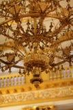 Leuchter von Armorial Hall Stockfotografie