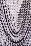 Leuchterlicht im Innenraum, Chrystal-Leuchternahaufnahme Kristallteil vom Leuchter, Leuchter, Beleuchtung, Ausrüstung, Luxus, Lizenzfreie Stockbilder