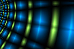 Leuchtetunnel Lizenzfreie Stockbilder