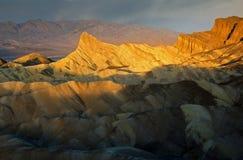 Leuchtfeuer in der Wüste Stockbild